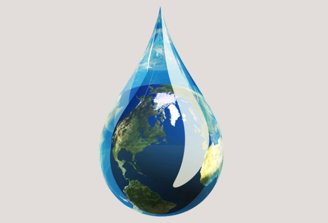 Sustain-Water droplet-Sustainable cities